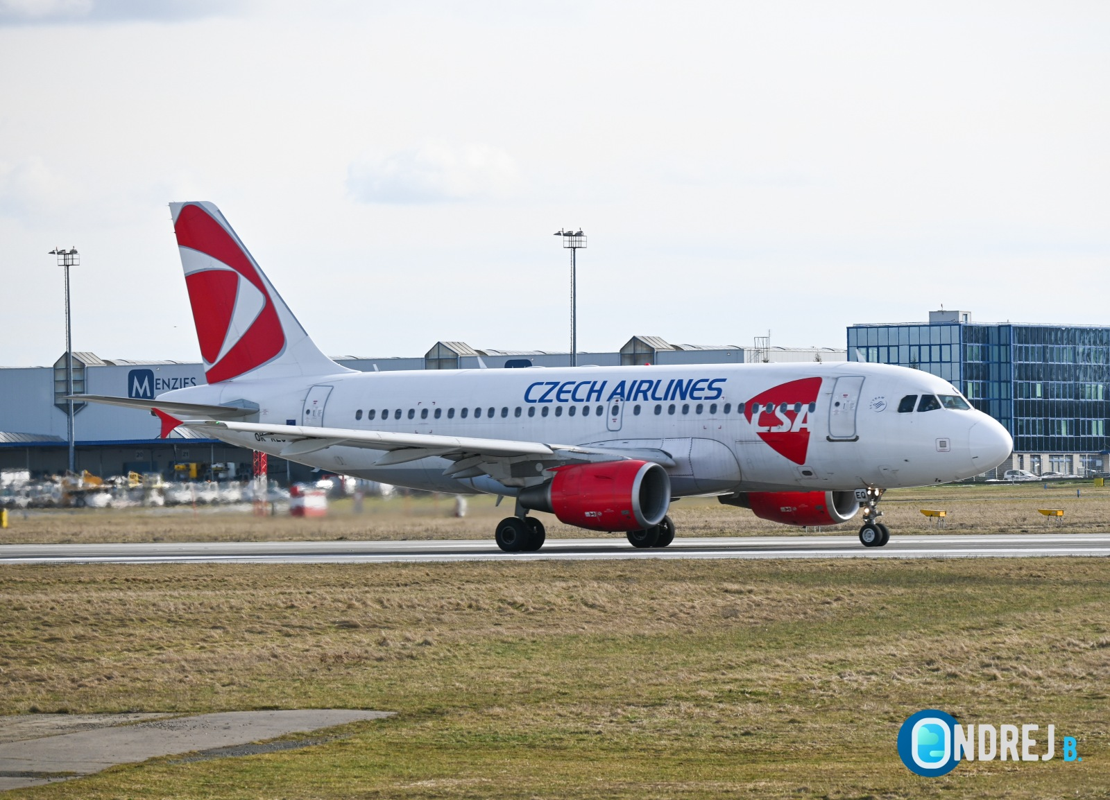 České aerolinie Airbus A319