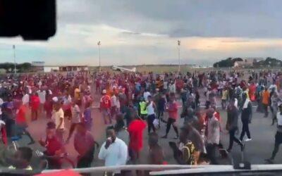 Davy tanzánců narušily vážně bezpečnost na letišti Dar es Salaam