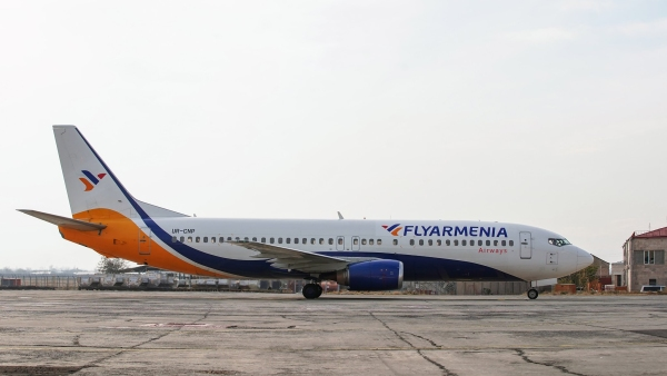 """Írán řekl, že vrátí """"pohřešované"""" arménské letadlo"""