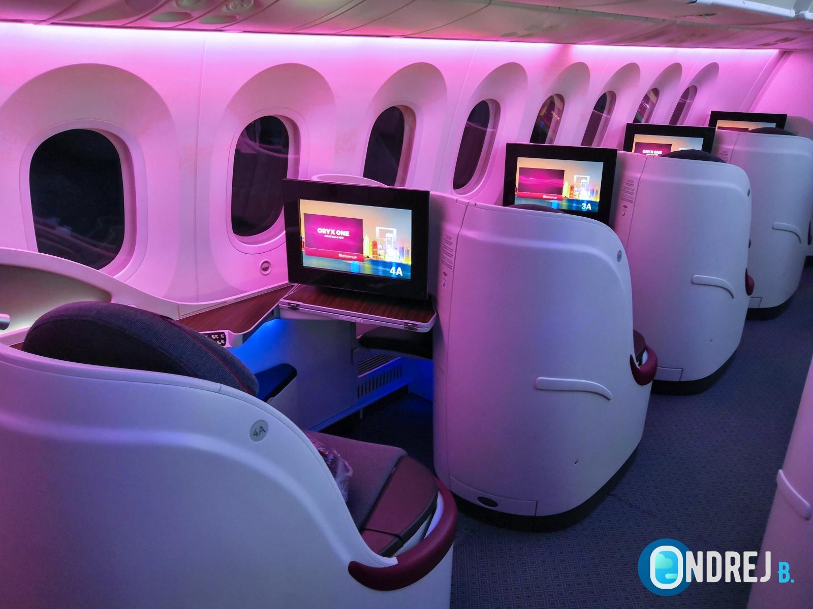 Qatar Airways Obchodní třída