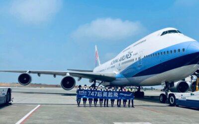 China Airlines se rouzloučila s posledním Boeingem 747-400