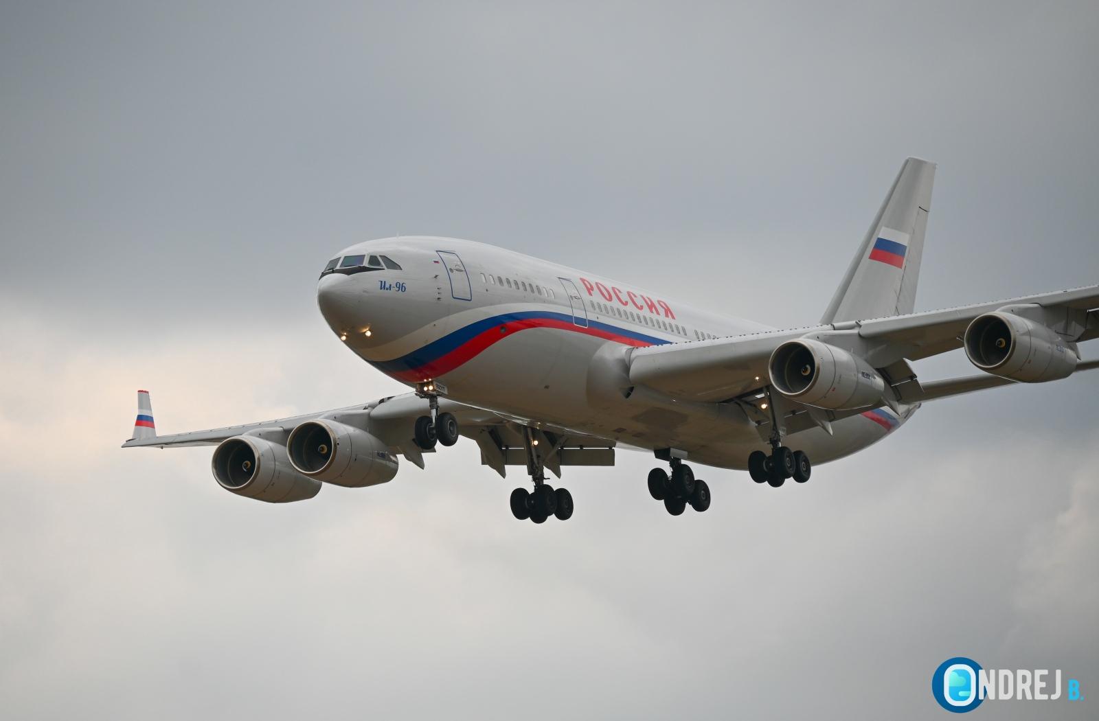 Ilyushin Il-96 Russia government