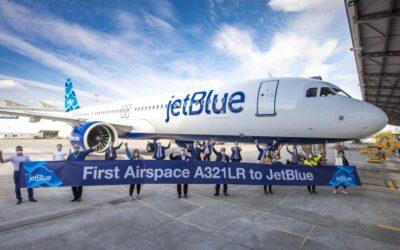 JetBlue spustilo prodej letenek do Londýna