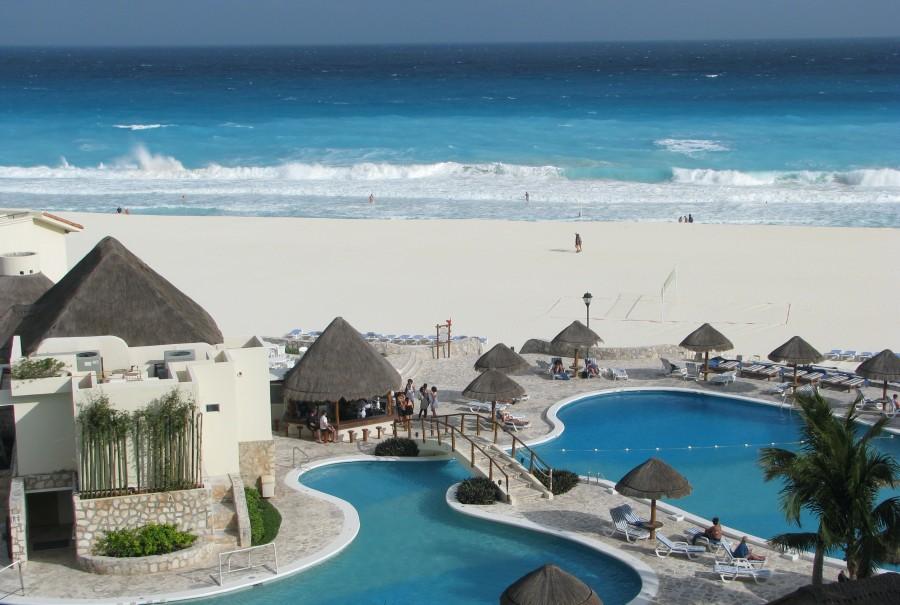 Mexiko: Zpáteční letenky z Vídně do Cancúnu 11.102 Kč