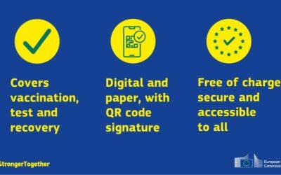 Evropský parlament a vlády EU se dohodly na očkovacím pase