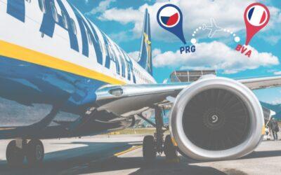 Ryanair se vrací na linku z Prahy do Paříže