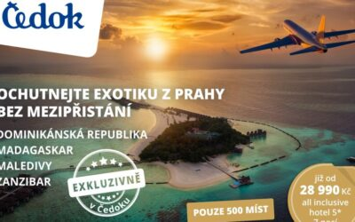 CK Čedok nabídne přímé lety do exotiky s aerolinkou Luke Air