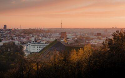 Litva: Zpáteční letenky z Vídně do Vilniusu 408 Kč