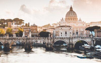 Itálie: Zpáteční letenky z Vídně do Říma 255 Kč