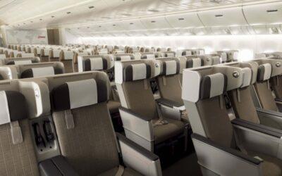 Aerolinka SWISS představila Premium Economy třídu