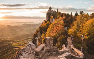 San Marino: Zpáteční letenky z Vídně do Rimini(San Marino) 661 Kč