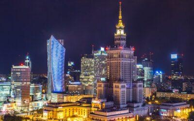Polsko: Zpáteční letenky z Prahy do Varšavy 518 Kč