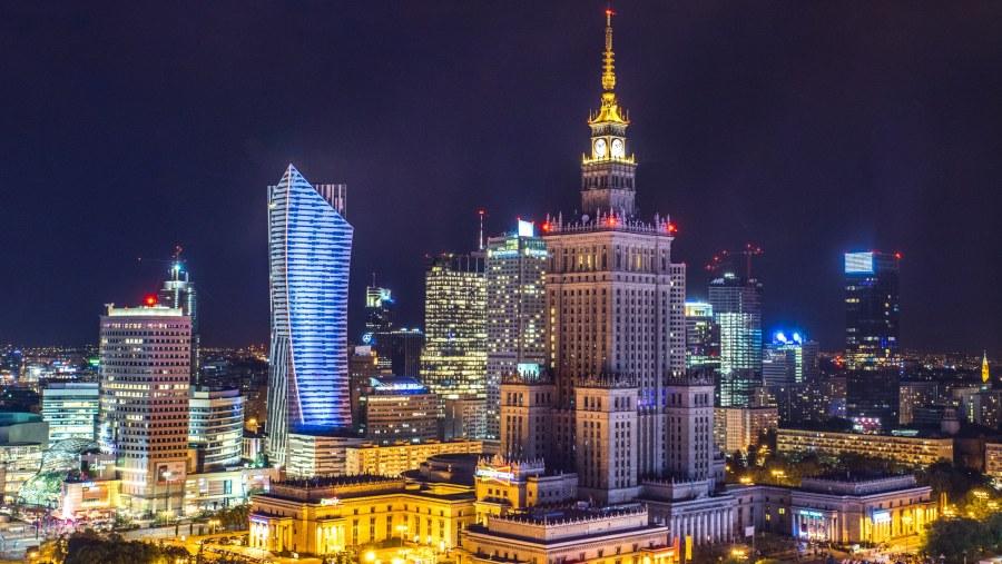 Polsko: Zpáteční letenky z Prahy do Varšavy 398 Kč