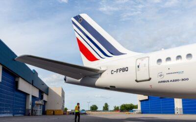Air France na konci září převezme první Airbus A220