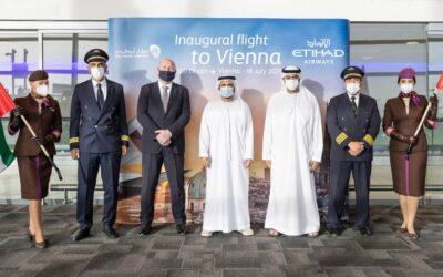 Etihad Airways zahájil lety z Abu Dhabi do Vídně
