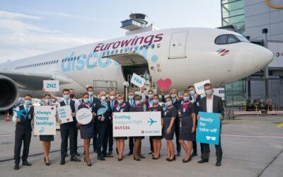 Nová německá aerolinka Eurowings Discover zahájila provoz