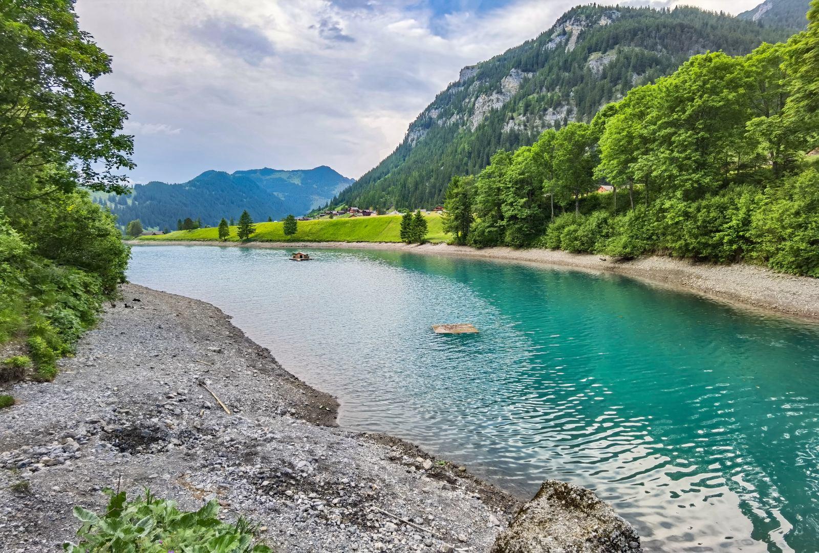 Lichtenštejnsko Stausee Steg
