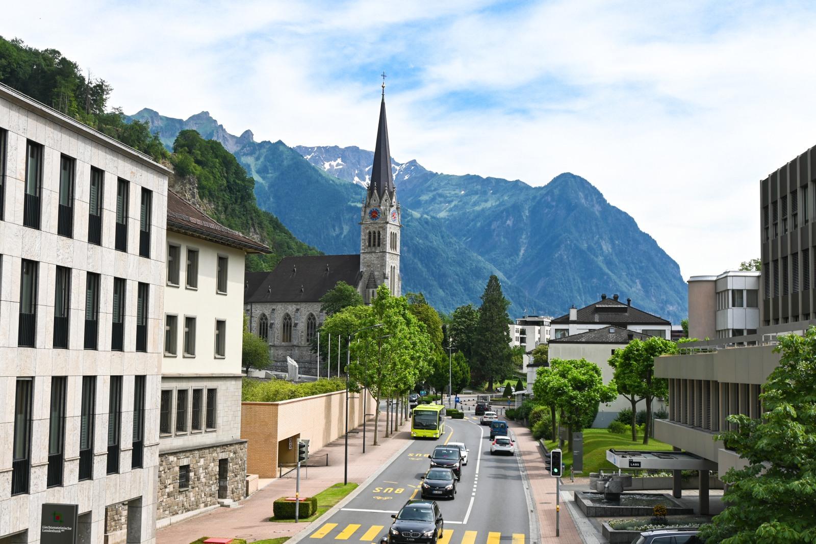centrum Vaduzu