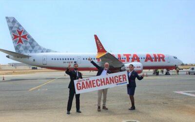 """Malta Air převzala první Boeing 737-8200 """"Gamechanger"""""""