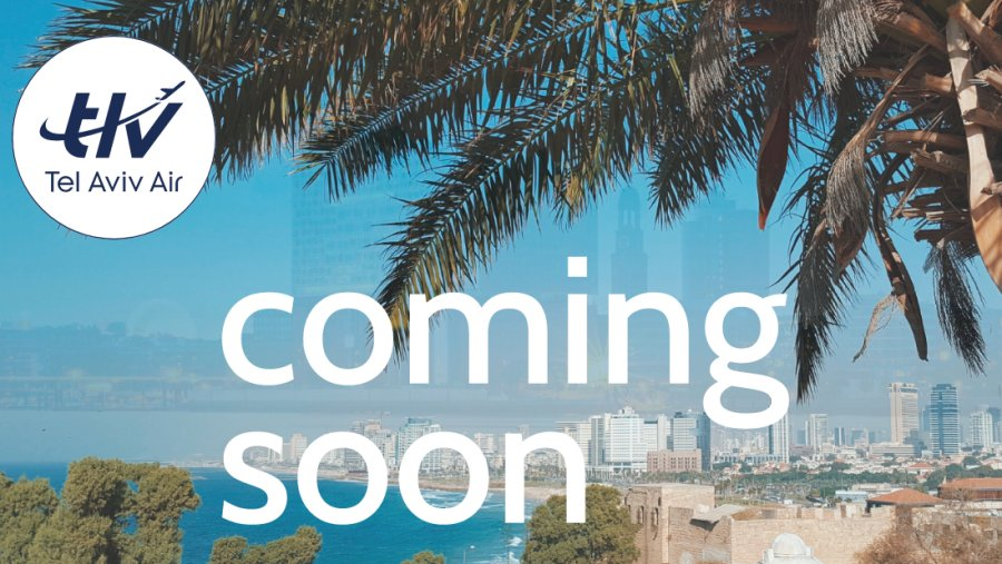 Tel Aviv Air nová aerolinka plánuje lety z Hamburku do Tel Avivu