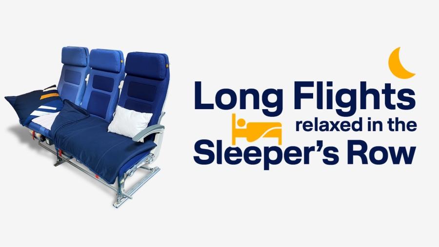 "Lufthansa nabídne na dálkových letech ""Sleeper's Row"""