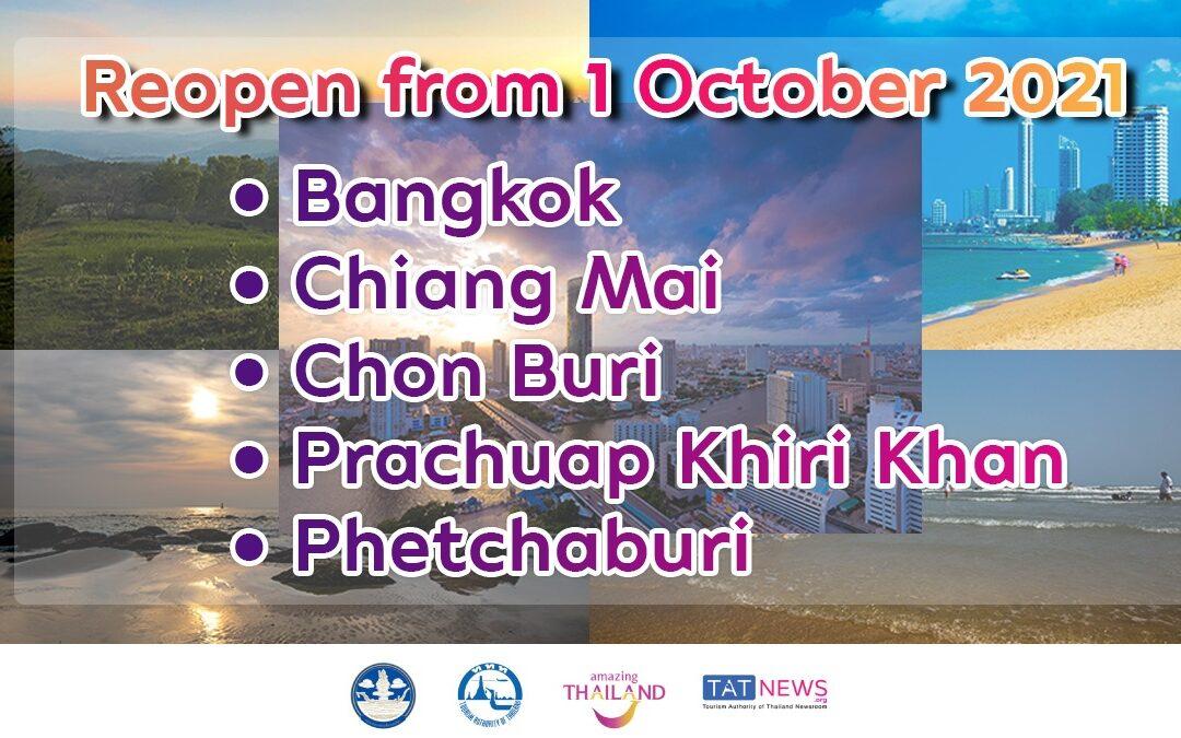 Thajsko otevře v říjnu pro turisty Bangkok a další destinace